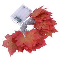 3M 30 LED Ahornblätter Lichterkette Maple Leaf Herbst Lichterkette Party Dekor