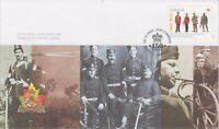 CANADA #2579 THE REGIMENTS - THE ROYAL HAMILTON LIGHT INFANTRY FIRST DAY COVER