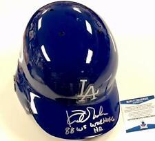 "KIRK GIBSON Auto ""88 WS Walkoff HR"" Signed Dodgers #23 Helmet ~ BAS Beckett COA"