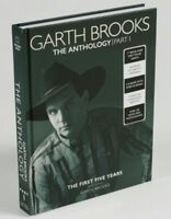 Garth Brooks 5 CD Special Edition The Anthology Part 1 Hardcover Book & 5cds