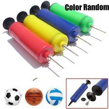 Ball Inflator Inflating Air Hand Pump Needle Sport Football Soccer Basketball