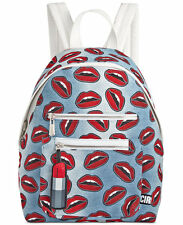 "NWT Circus by Sam Edelman Canvas ""Denim Lips"" Backpack"