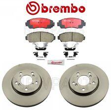 Front for Honda Odyssey 05-10 Disc Brake Rotors & Disc Brake Pads Kit Brembo