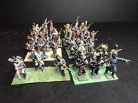 32 - 25mm Napoleonic War Games metal painted Figurines