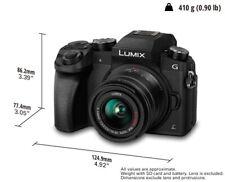 Panasonic Lumix DMC-G7W 4K Camera W/ 14-42mm Lens & 45-150mm Lens