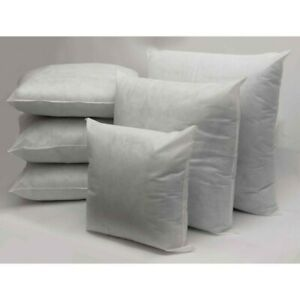 """Extra Plump Generously Filled 18x18"""" Cushion Pads Inserts Fillers Scatters Qty 4"""