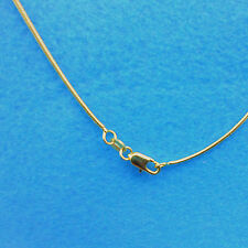 "Wholesale 1PCS 26"" 18K GOLD Filled Snake Necklace Chains For Pendants Fashion"