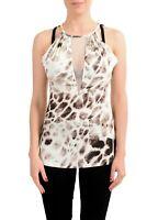 Just Cavalli Women's Multi-Color Sleeveless Top Size L XL 2XL
