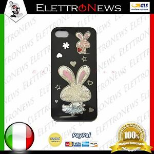 Cover custodia TPU per Iphone 5-5s coniglio