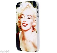 Coque housse protection pour Apple iphone 4/4S Case shell cover - Marilyn Monroe