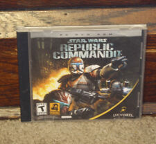 Star Wars: Republic Commando (PC, 2005) Disc Manual Case Tested Ships FAST