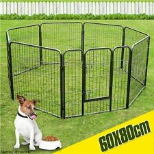 NEW Small 8 Panel Folding Pet Enclosure Puppy Rabbit Guinea Pig Ferret Playpen