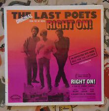 The Original Last Poets SEALED LP Right On! 1971 Original Afro Funk Rap M-