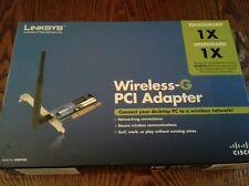 Linksys WMP54G Wireless PCI Adapter