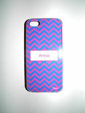 "PERSONALIZED NAME COVER FOR IPHONE 5/5S WITH 2 LAYERS OF PROTECTION ""ANNA"" NEW"