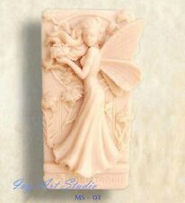 Silicone Soap/Candle Mold/Mould One Cavity - Standing Floral Fairy