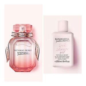 Victoria's Secret BOMBSHELL SEDUCTION Eau de Parfum(3.4 fl.oz.) and Body Wash