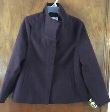 Women's Cowl Neck Burgundy winter coat Old Navy Sz M