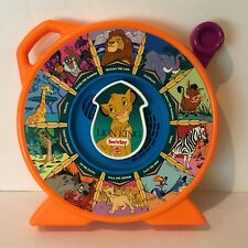 Mattel See N Say Disney The Lion King 1989 Orange Spin Game Animal Sounds