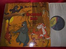 Soundtrack  Dschungel Buch auf Deutsch    rare German Buena Vista LP