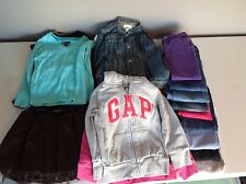 Girls Size 4-5 Lot of 20 Jeans Hoodies Jackets Shirts Fall Winter Lot