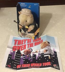 Fly Guy Dancing Hamster with mini poster and original box