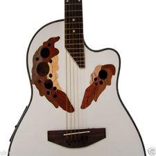 Guitares, basses et accessoires blancs 4/4