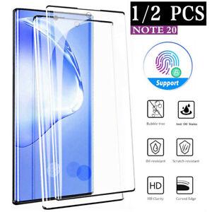 2x Samsung Galaxy Note 20 /Ultra Panzerfolie Echt Hart Glas Displayschutzglas 9H