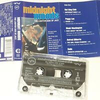 MIDNIGHT MOODS LIGHTER SIDE OF JAZZ 1993 CASSETTE TAPE ALBUM COMPILATION