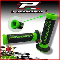 MANOPOLE PROGRIP MOTO SCOOTER 22 / 25 MM DUAL DENSITY VERDE FLUO 6-732