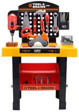 Kinderwerkbank Werkstatt Werkzeugset und Bohrer - Kleinkindspielzeug