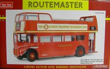 ROUTEMASTER * London Transport RM 94 - VLT 94 Open Top * 1:24 Sunstar 2910
