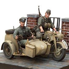 [SOL Model] MM183, 1/16 Zundapp KS-750 with Sidecar & Troopers, model kit