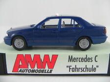 """AMW 10004 Mercedes-Benz C-Klasse Limousine (1993) """"Fahrschule"""" 1:87/H0 NEU/OVP"""
