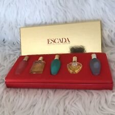 Escada miniature parfum Set 4*4ml & 5ml