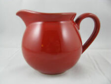 Cherry Red Pitcher 36oz Waechtersbach German Stoneware New