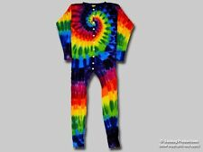 XL Tie Dye Rainbow Union Suit — New, Never Been Worn! - Will not fade or bleed!