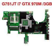 For ASUS ROG G751J G751JT Gaming Motherboard i7-4720HQ CPU GTX970M 3GB G751JY