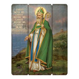 "12"" x 15"" Wood Pallet Sign Saint Patrick of Ireland"
