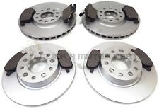 Alfa Romeo Brera 1.8 Tbi 04//10 Rear Brake Discs Drilled Grooved Gold Edition