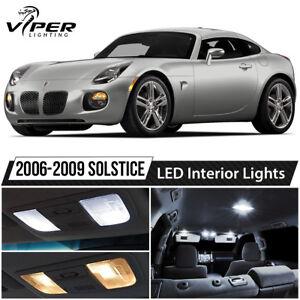 2006-2009 Pontiac Solstice White LED Lights Interior Package Kit