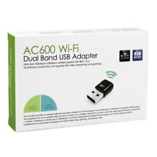 Ac600 Wireless Dual Band 2.4g 5g 5ghz 802.11ac USB WIFI Dongle Adattatore di rete