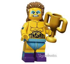 LEGO MINIFIGURES SERIE 15 MINIFIGURA WRESTLING CHAMPION 71011 - ORIGINAL MINIFIG
