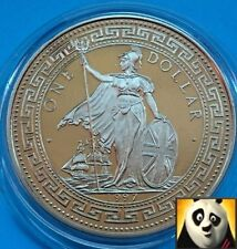 1997 $1 Trade One Dollar 50th Anniv. Indian Independence Colourised Unc Coin x