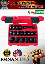 "IMPACT SOCKET SET 19 PIECE STD 1/2"" SQUARE DRIVE METRIC"