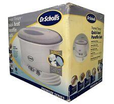 Dr Scholls Quick Heat Hand & Foot Paraffin Wax Bath Kit Thermal Therapy Premium