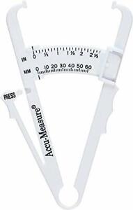 Accu-Measure Body Fat Caliper - Handheld BMI Body Fat Measurement Device - Sk...