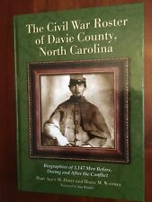 RARE Civil War Roster of Davie County, North Carolina, Mocksville, Confederate