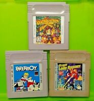 Bomberman Paperboy Hyper Lode Runner Nintendo Game Boy Color GBC GB SP Advance