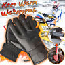 48~72V Rechargeable Waterproof Electric Heated Motorcycle Gloves Hand Warmer